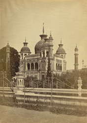The opposite building of the Hosenabad Imam-bara, Lucknow.